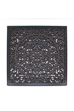Wallflower Square Black