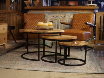 Salon tafel 3 stuks