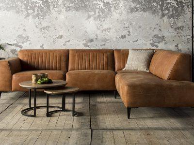 Leren banken het anker & easy sofa tendenz wonen