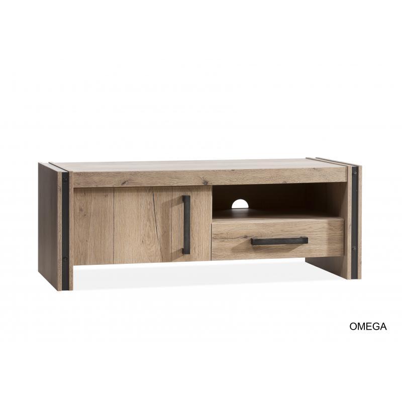Omega Tv Kast Laag 1dr1 La 1 Open Vak Lamulux